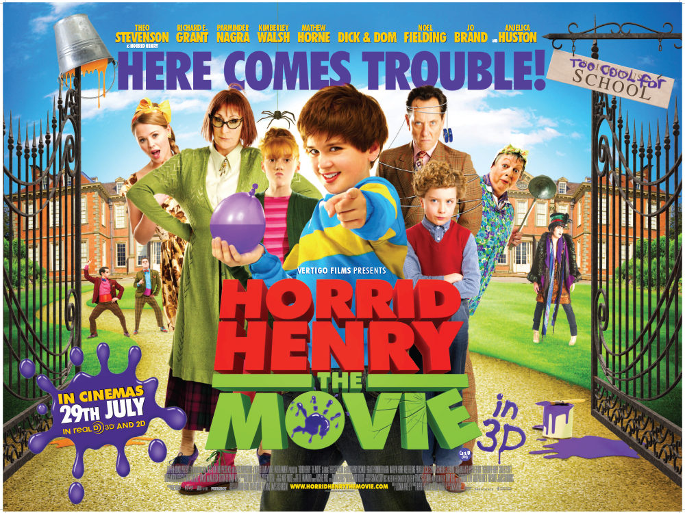 Horrid Henry Quad Main Art 4lo