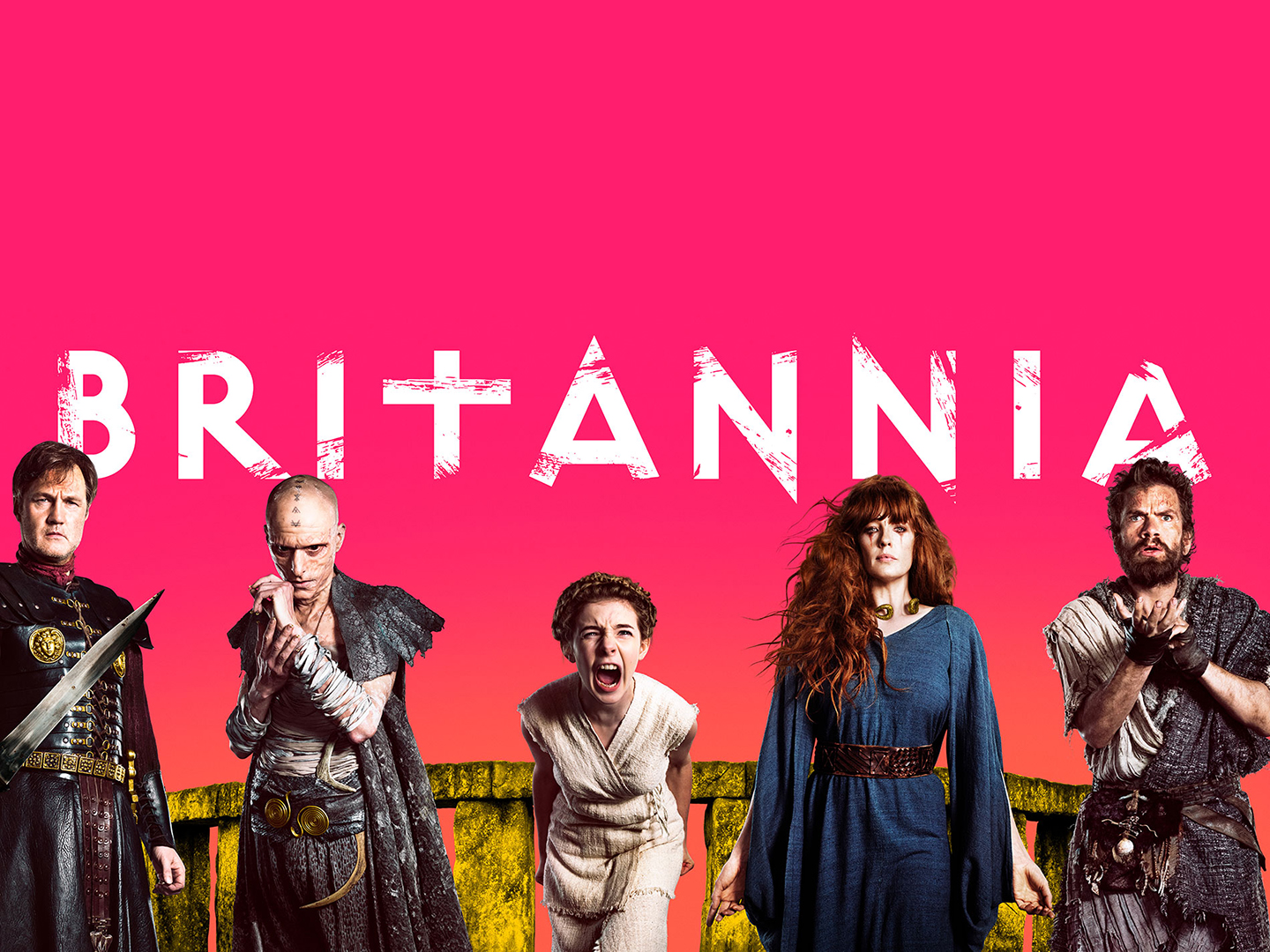 Britannia shortlisted for BAFTA TV Craft Awards